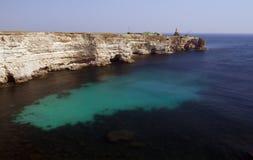 Kaap Tarhankut Royalty-vrije Stock Foto's
