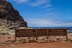 Kaap van Goed Hoopteken royalty-vrije stock fotografie