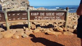 Kaap van goede hoop Stock Foto's