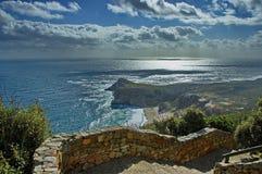 Kaap van Goede Hoop, landschapsmening Stock Afbeelding