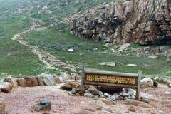 Kaap van Goede Hoop, Zuid-Afrika stock afbeelding