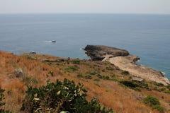 Kaap van Santa Maria Di Leuca Royalty-vrije Stock Foto