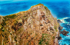 Kaappunt dichtbij de Kaap van Goede Hoop Zuid-Afrika Stock Foto