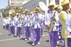 Kaapse Klopse - παρέλαση στο Καίηπ Τάουν -2019 στοκ εικόνες