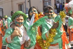 Kaapse Klopse - παρέλαση στο Καίηπ Τάουν -2019 στοκ φωτογραφία με δικαίωμα ελεύθερης χρήσης