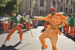 Kaapseklopse -Cape Town Street parade - 2nd New Year 2019 stock photos