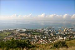 Kaapstad - panorama Royalty-vrije Stock Foto