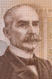 Kaarlo Juho Stahlberg-portret van Fins geld Royalty-vrije Stock Afbeeldingen
