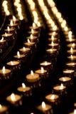 Kaarsen Royalty-vrije Stock Afbeeldingen