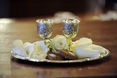 Kaarsen in de kerk Royalty-vrije Stock Afbeelding