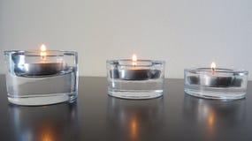 Kaarsen door grootte Royalty-vrije Stock Afbeeldingen