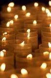 Kaarsen in een kerk Royalty-vrije Stock Fotografie