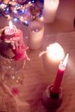 Kaarsen Kerstmis Royalty-vrije Stock Fotografie