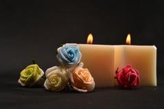 Kaarsen van aromatherapy Royalty-vrije Stock Afbeelding