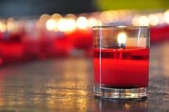 Kaarsen van fortuin royalty-vrije stock afbeeldingen