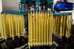 Kaarsenproductie Stock Afbeelding