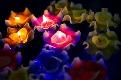 Kaarslicht Stock Foto's