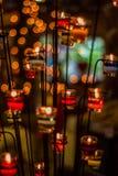 Kaarslicht Royalty-vrije Stock Foto's