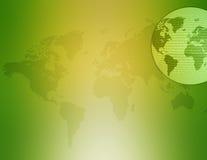 Kaart 02 van de wereld Royalty-vrije Stock Foto
