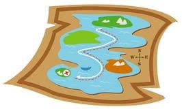 Kaart Stock Foto