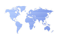 Kaart stock illustratie