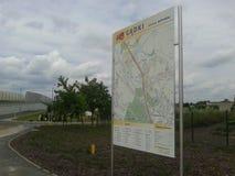 kaart Stock Foto's