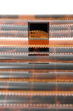 Kaart en film Stock Fotografie