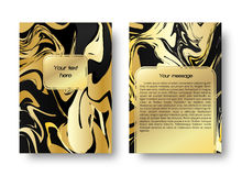 Kaart marmeren patroon Royalty-vrije Stock Foto's