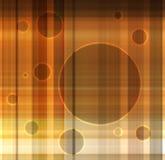 Kaart met cirkelsframes Stock Fotografie
