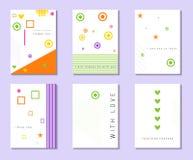 Kaart met liefdebekentenis Kaart met plaats voor uw tekst Vector stock illustratie