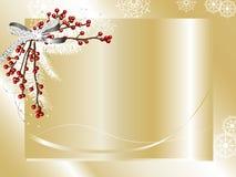 Kaart met lint Royalty-vrije Stock Afbeeldingen