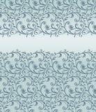 Kaart met naadloos patroon Royalty-vrije Stock Fotografie