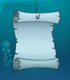 Kaart Onderwater vector illustratie
