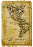 Kaart van de V.S. Royalty-vrije Stock Fotografie