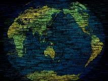 kaart van de wereld vector illustratie