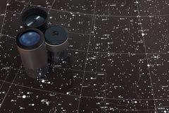Kaart van sterren Stock Foto