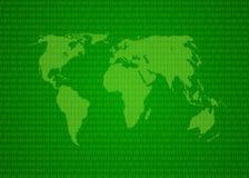 Kaart van wereld Royalty-vrije Stock Fotografie