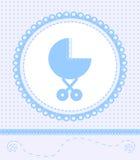Kaart voor babyjongen Royalty-vrije Stock Foto's