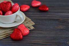 Kaart voor de dag van Valentine Stock Foto