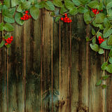 Kaart voor de vakantie met de herfstbladeren Royalty-vrije Stock Afbeelding