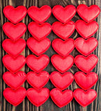 Kaart voor een dag van Valentine ` s Royalty-vrije Stock Foto