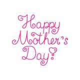 Kaart voor Moeder` s Dag Royalty-vrije Stock Foto