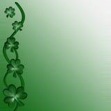 Kaart voor ontwerp op Heilige Patrick Day Royalty-vrije Stock Foto