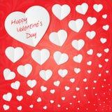 Kaart voor Valentijnskaart Stock Afbeeldingen