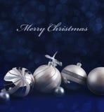 Kaart - Vrolijke Kerstmis Royalty-vrije Stock Foto