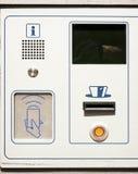 Kaartautomaat Royalty-vrije Stock Afbeeldingen