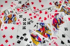 Kaarten royalty-vrije stock foto
