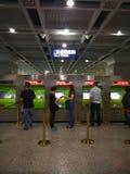 kaartjes voor metro Stock Afbeeldingen