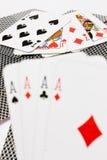 Kaartspel Royalty-vrije Stock Afbeeldingen