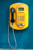 Kaarttelefoon stock foto